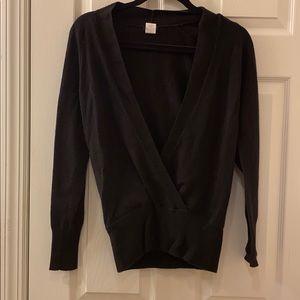 JCrew open front sweater